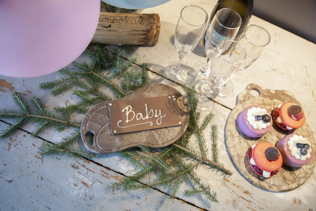 Treats for the Baby Shower. Picture: Janica Karasti