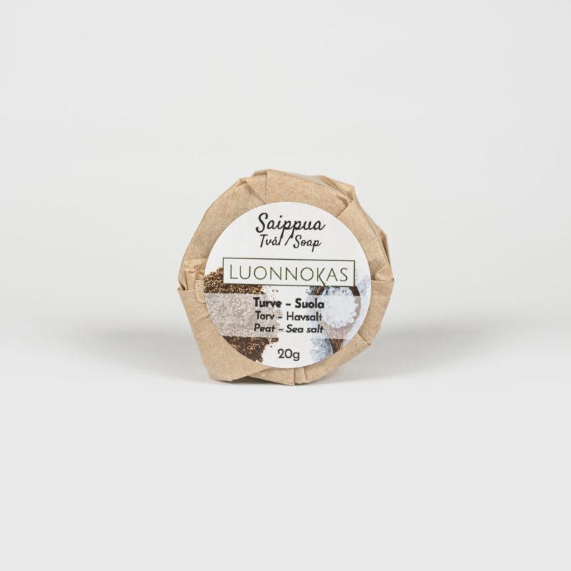 Turve-suola-saippua 20 g.