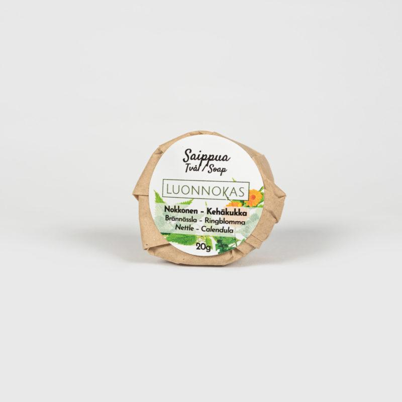Nokkonen-kehäkukka-saippua 20 g.